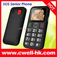 NEW SENIOR CITIZEN MOBILE PHONE SOS BIG BUTTON UNLOCKED FOR ELDERLY OLD PERSON