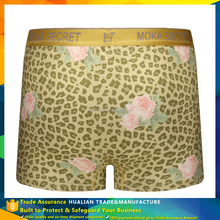 Colorful high quality printing mens coolmax underwear