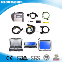 BEACON Auto car diagnostic scanner MB Star sd c4 with Panasonic military laptop CF-19 software version
