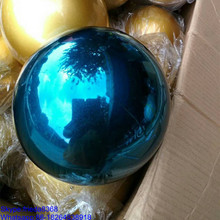 50mm 100mm 150mm 200mm Christmas steel hollow stainless steel rainbow ball