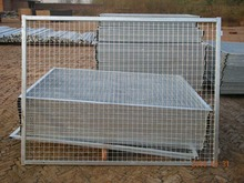 6 gauge welded wire mesh fence panels