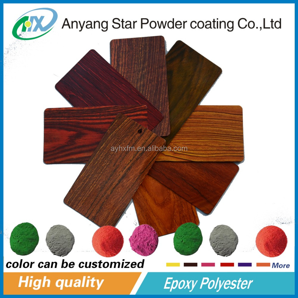 Anyang Star Powder Coating epoxy polyester and wood finish powder coating