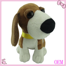 2016 Custom Lovely Stuffed Plush Dog Toy For Babies