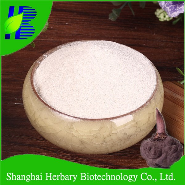 Top quality natural konjac glucomannan powder