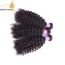 Top hot selling product on Alibaba 8a virgin original weaving kinky curly full cuticle malaysian weave hair