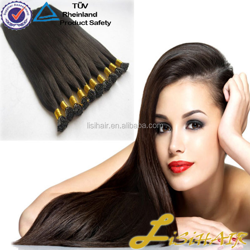 Wholesale price for white women Brazilian stick tip I tip hair extensions