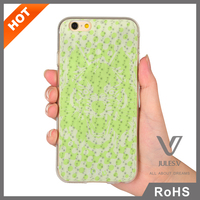 Wholesale sublimation personalized printing cell phone case for iphone6s 6splus
