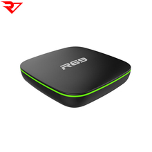 Factory wholesale R69 <strong>Android</strong> 7.1 H3 chip Quad Core <strong>Android</strong> TV BOX 1GB RAM 8GB ROM in Set top Box