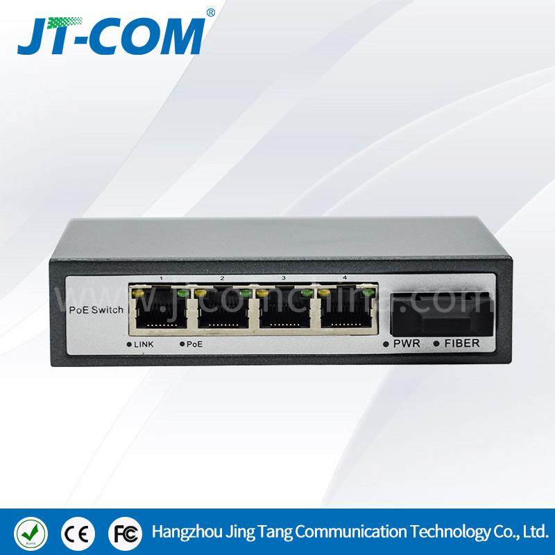 Outdoor Network Fast 5 Port PoE Ethernet Switch