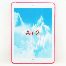 mobilephone matte inside and gloss outside gel case cover for ipad air 2