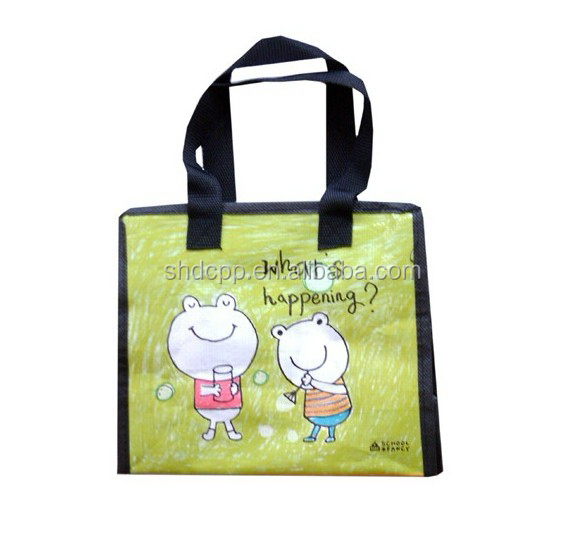Popular stylish shop non woven bag