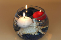 handmade paraffin wax christmas/Halloween/holiday Type floating candles