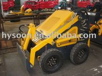 mini skid steer loader with solid tire