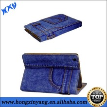 New product for Apple iPad 2 3 4 case,jeans phone case cover