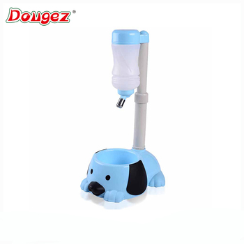 Direct factory supplier pet cat dog automatic water fountain ABS pet water dispenser and food bowl