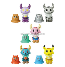 make your own fantasy design rotocast toy/custom non-toxic plastic 5 series small roto cast vinyl toy for kid