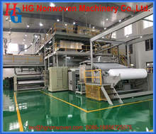 geotextile non-woven fabric rolls making machine/HG-3200