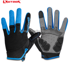 Kutook Full Finger MTB Gel Pad Tactical cycling Gloves