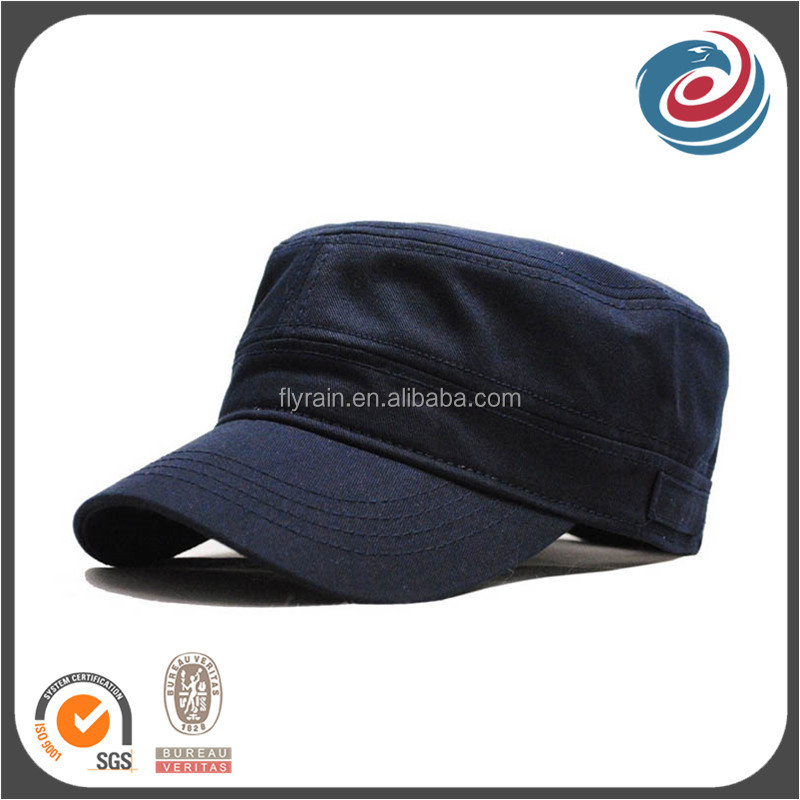 simplism stylish blank round top caps winter military hats