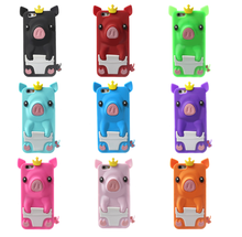 Cute 3D Crown Pig Silicone Case for iPhone 6 3D Cartoon Case