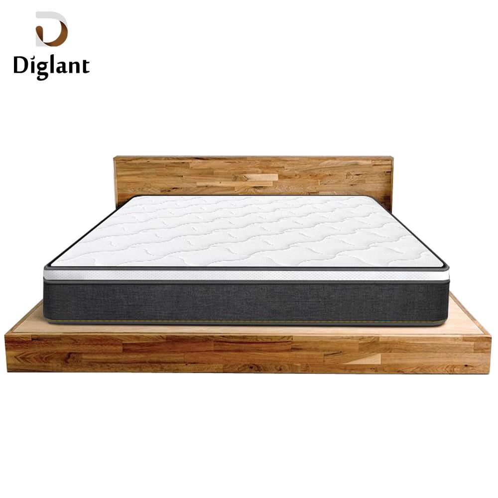 DM015 Diglant Gel Memory Latest Double Fabric Foldable King Size Bed Pocket tempurpedic mattress - Jozy Mattress | Jozy.net