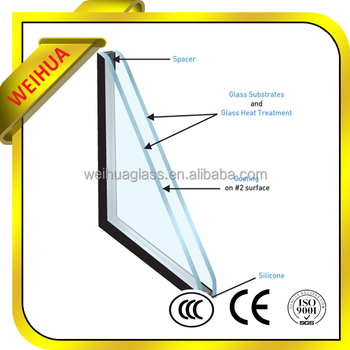 Argon gas glass window price for residential building for Argon gas windows