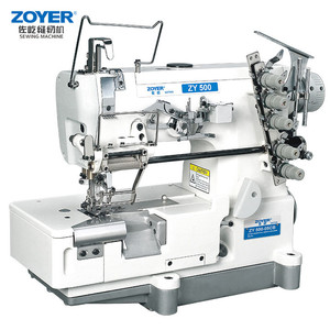 Hot Coverstitch Machine Industrial Sewing Machines For Sale Interlock Double Jersey Fabric
