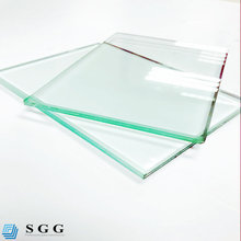 6.38mm 8.38mm 10.38mm double glazed clear laminated glass