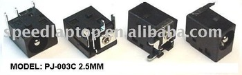 DC jack, power jack, power connector for MSI GX600, Wind U100, MS-1029, MS-1032, MS-1034, MS-1034, MS-1036, MS-1039, MS-163C