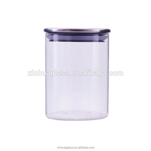 500ml glass for food preserve wholesale glass bottle factory