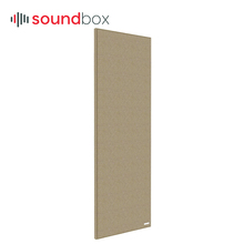 SOUNDBOX sound absorbing materials fabric anti-qxidization treatment diffuser acoustic panel