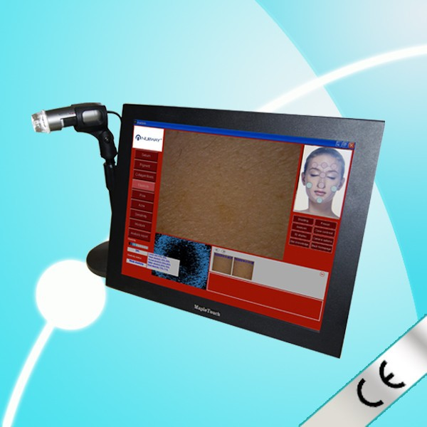 Online Shopping Skin scope analyzer with Portable Hair Skin Analyzer