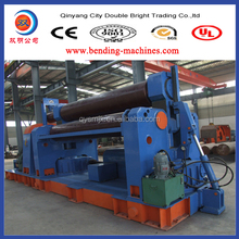 operation video of plate rolling machine ,roller metal plate bending machine
