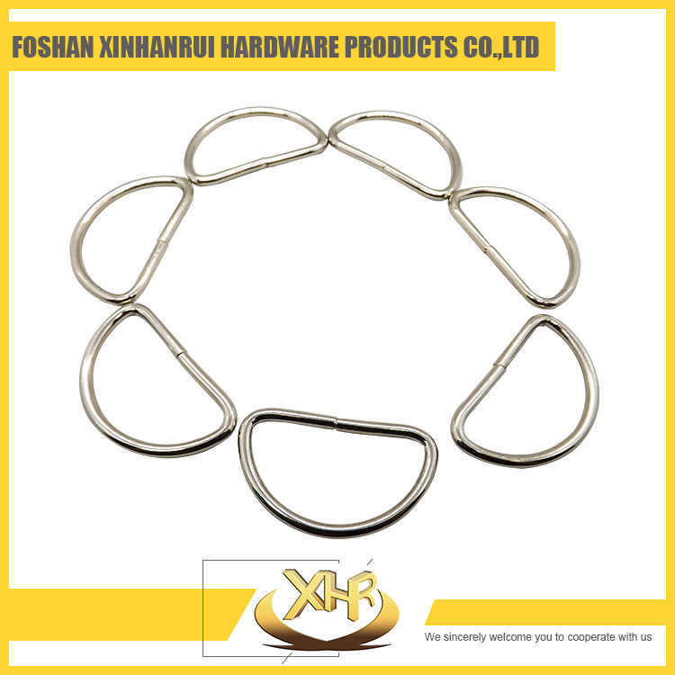 Good quality custom metal D ring for handbags from China