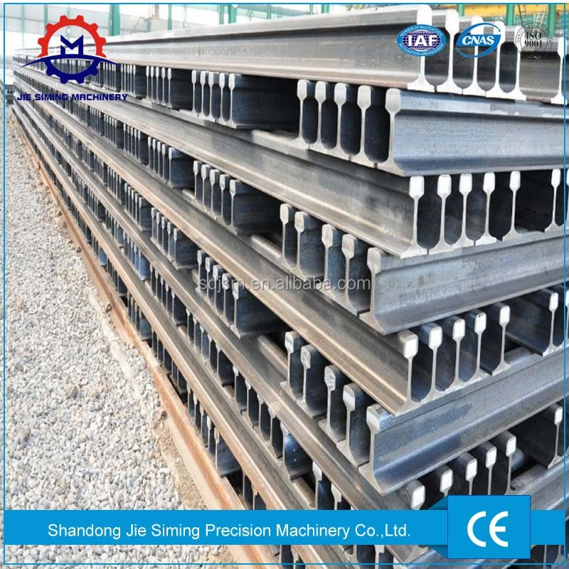 UIC54 UIC60 QU80 railroad steel rail for sale