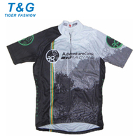 Wholesale specialized sublimation cycling shirt