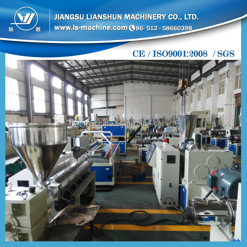 New style plasticizing door board manufacturing lines with high quality/plastic board production lines