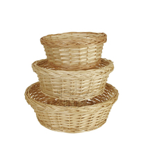 Hot sale willow cup flower basket /willow/wicker basket