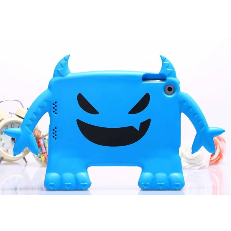 Small devil shockproof tablet pc cases for ipad mini 1/2/3 for ipad cover kids case for ipad