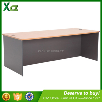 2016 best price straigh wooden furniture office desk for sale