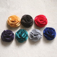 Wholesale Custom Made Fashion Fabric Flower
