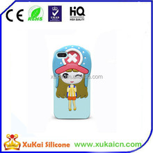 Beautiful Customized Design silicon phone cover/case,3d mobile phone cover for iphone /samsung