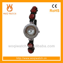 High quality brass jewelry watch for young girls and women