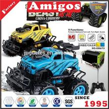 1: 16 4 channel rc off road with light (jeep) for children
