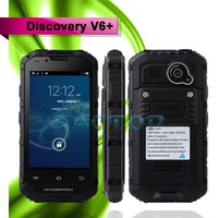 4 inch 2 SIM Card MTK6572 4GB 3G phone Discovery V6+ waterproof mobile phone