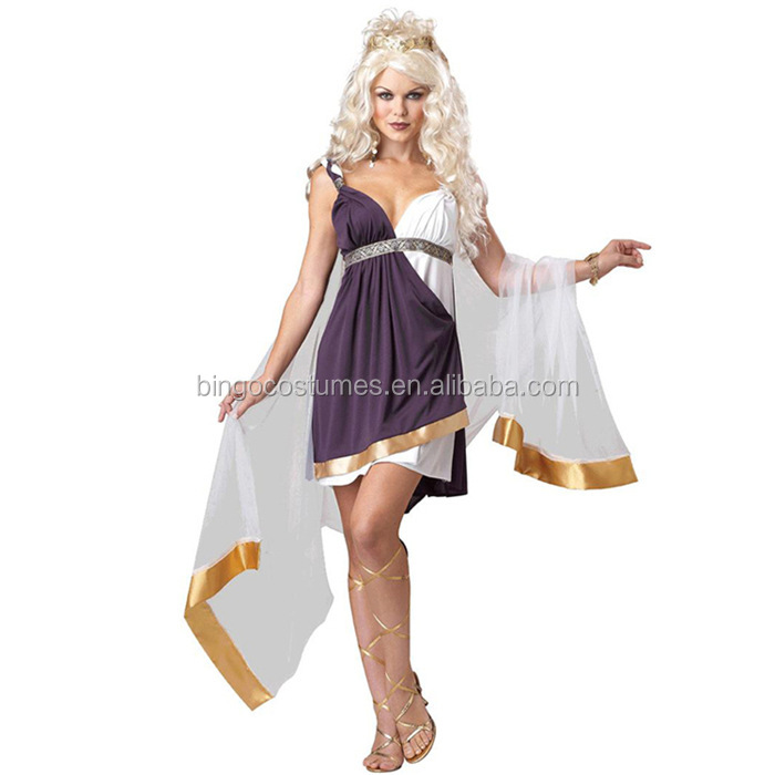 TOGA goddess venus greek fancy dress