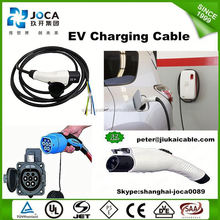 16Amp IEC 62196-2 ev cable adaptor For Electric Vehicle Charging With CE, TUV Certificates