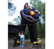 backyard inflatable 3m Halloween decorations inflatable cat