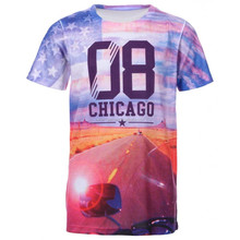 chicago printed t shirt wholesale in china, china manufacture digital printing t shirt