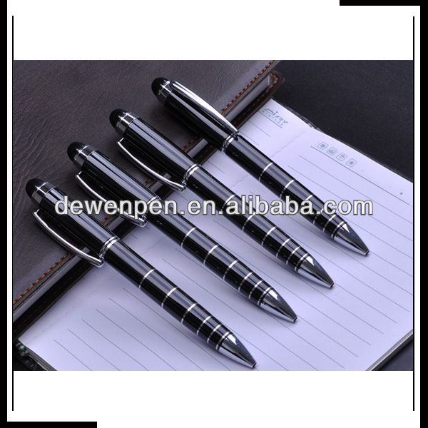 New promotional twistable metal pen